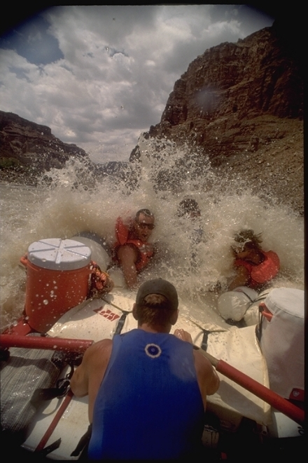 Colorado River Rafting in Canyonlands National Park through Cataract Canyon